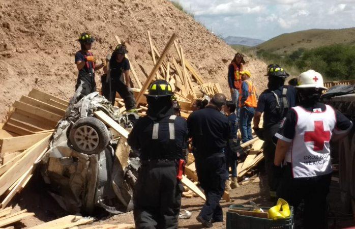 Mueren dos en fatal accidente en rúa a Cuauhtémoc