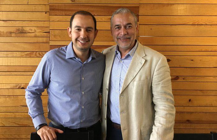 Visita Marko Cortés la ciudad por su candidatura al CEN