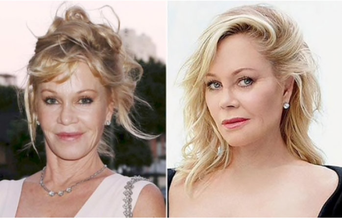 Melanie Griffith luce irreconocible