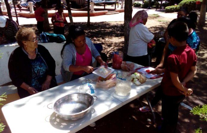 Plantón de comunidad indígena cumple un día