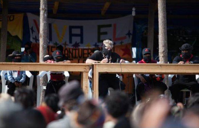 Los planes de Amlo van contra los indígenas, dice el subcomandante Galeano