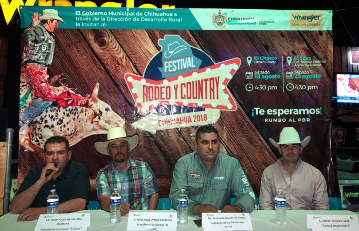 Invitan a Festival Rodeo y Country Chihuahua 2018