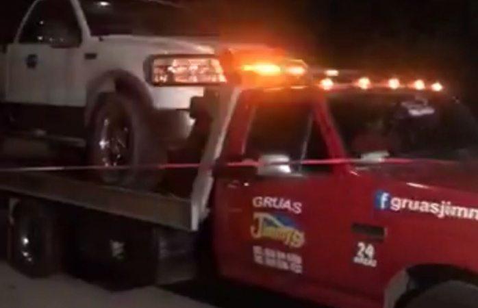Encuentran vehículo con presuntas evidencias de Rafita