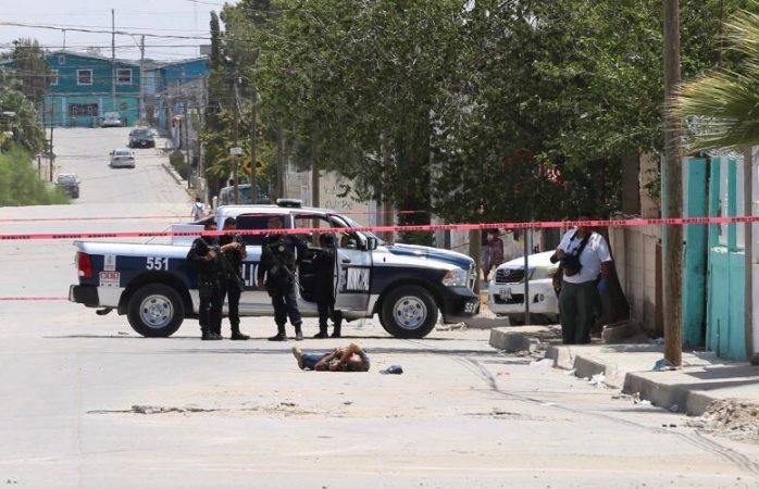 Lo ejecutan en plena calle de Zaragoza en Juárez