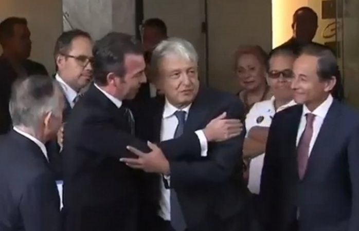 Acuerda López Obrador con empresarios impulsar proyectos por México