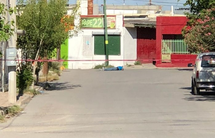 Asesinan a uno en calles de la colonia Anáhuac