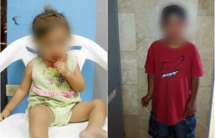 Resguardan a otros dos niños solos en la calle y de noche en Juárez