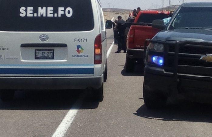 Muere al ser atropellado en rúa Parral- Santa Bárbara