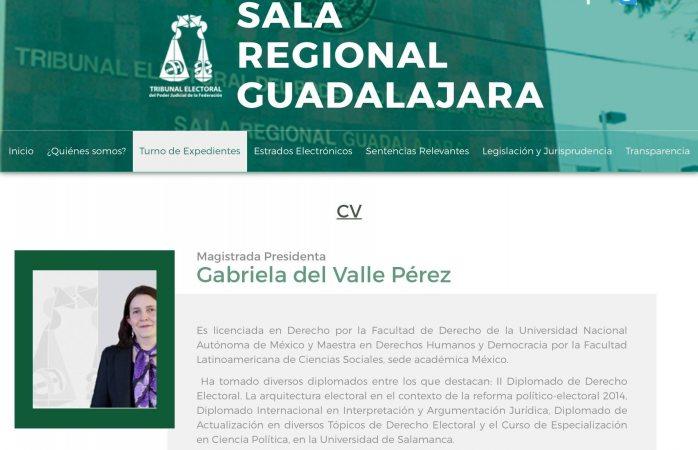 Turnan a Gabriela Valle impugnación de Juárez