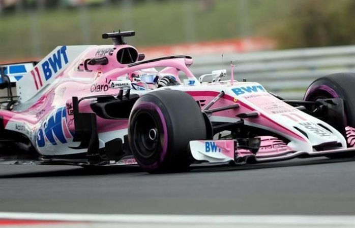 Force India cambiará nombre para GP de Bélgica