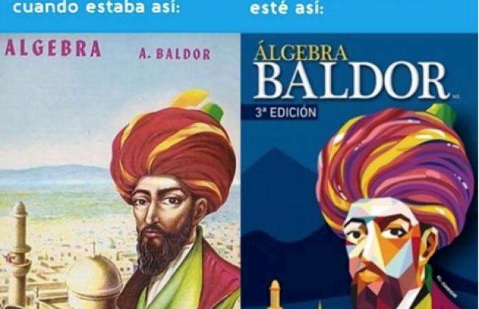 Libro Álgebra Baldor renueva su icónica portada tras 70