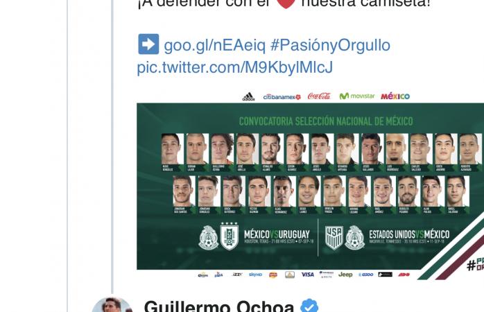 El 'Memo' Ochoa sorprende con radical cambio de look — Es otro definitivamente