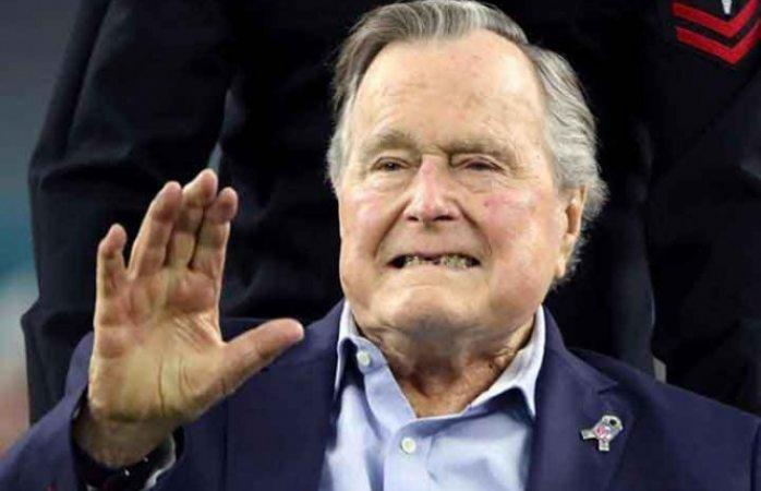 Murió el expresidente George H W Bush a los 94 años