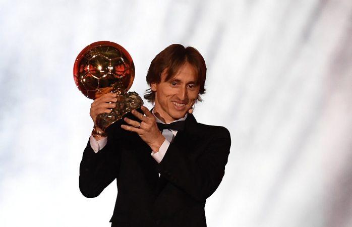 Termina Luka Modrik con el reinado de Messi y Cristiano