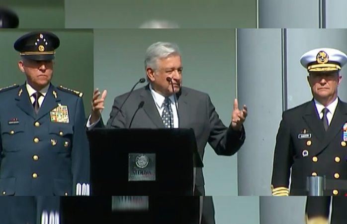 AMLO convoca a fuerzas armadas a constituir Guardia Nacional