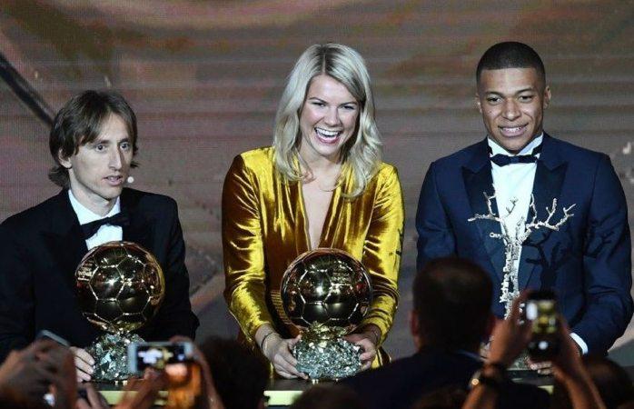 El momento que macha la gala del balón de oro