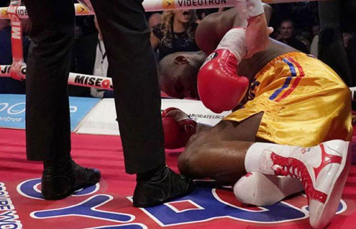 Boxeador Adonis Stevenson se encuentra grave tras brutal nocaut