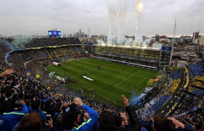 Desalojan por alerta de bomba la bombonera de Argentina