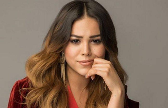 Critican a Danna Paola por copiar look de Belinda