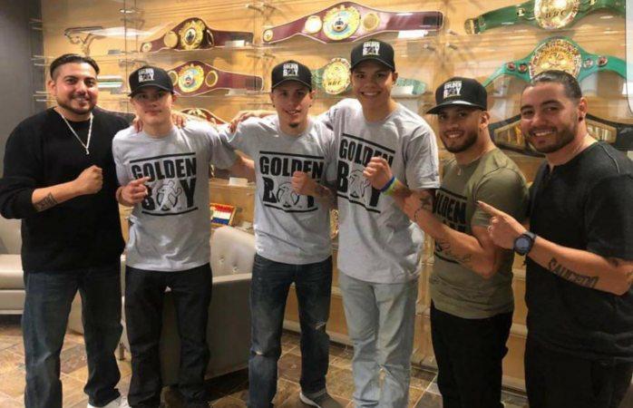 Firma golden boy contrato con Saucedo bros para 4 pugilistas