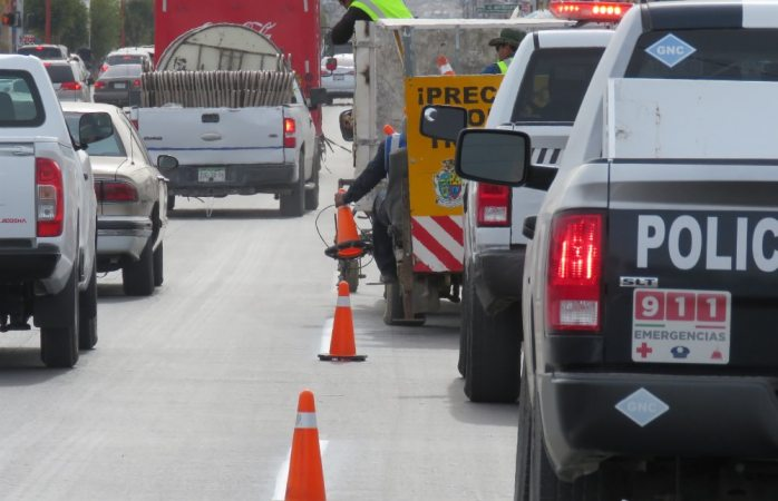 Cierran calles para mantenimiento en Juárez
