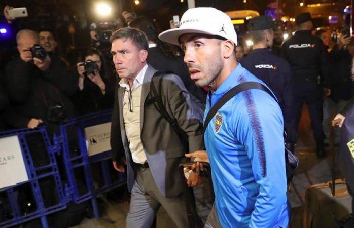 Llega boca juniors a Madrid para encuentro