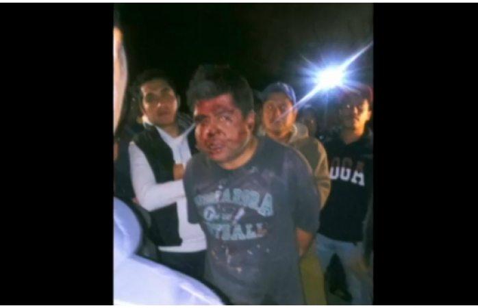 Intentan linchar a conductor que atropelló a 4 en estado de ebriedad en Puebla