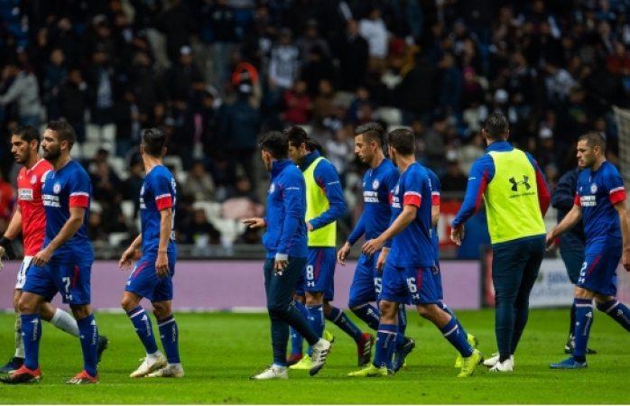 Le gana rayados 1-0 a cruz azul en ida de semifinal