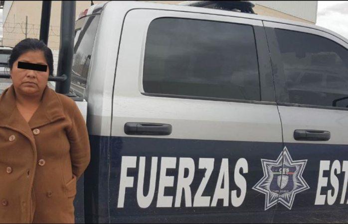 Detienen a mujer narcomenudista de gente nueva del tigre en Cuauhtémoc