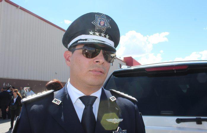 En poder del mp armas decomisadas a policía de Cuauhtémoc