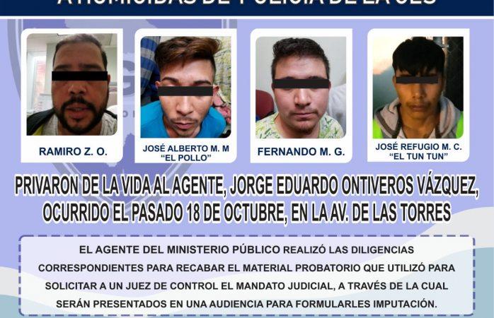 Orden de aprehensión a asesinos de policía estatal