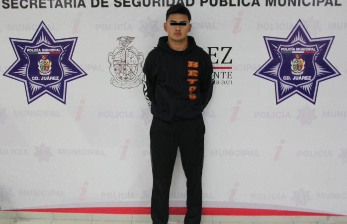 Detienen a joven miembro del cártel de Sinaloa en Juárez