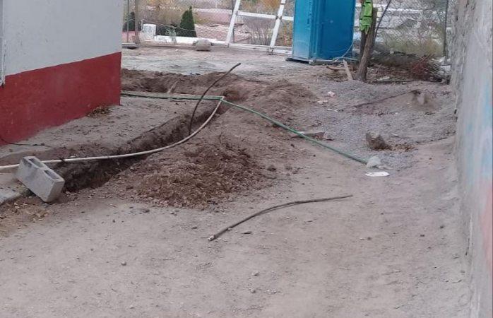 Hallan restos óseosal realizar trabajos de albañilería en Juárez