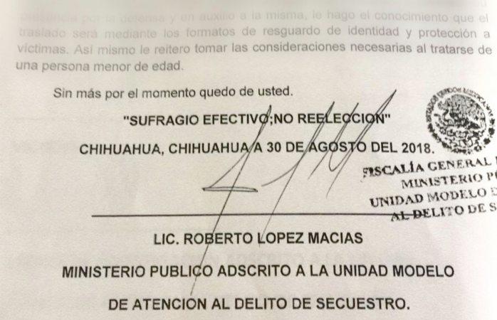Firmaba mp sin cédula profesional documentos certificados