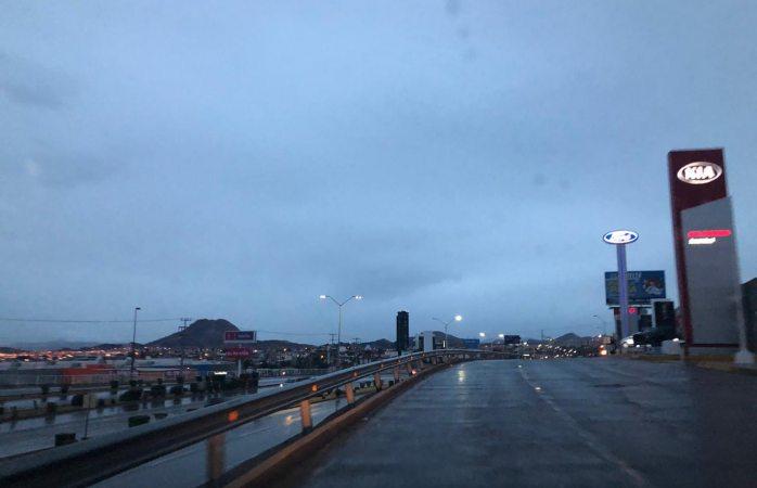 Se mantendrán lluvias hasta la noche y viento con frente frío