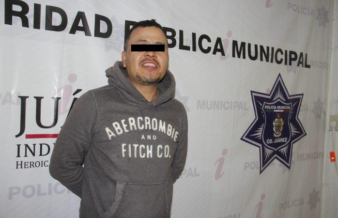 Detienen a hombre que violó a mujer desmayada en Juárez