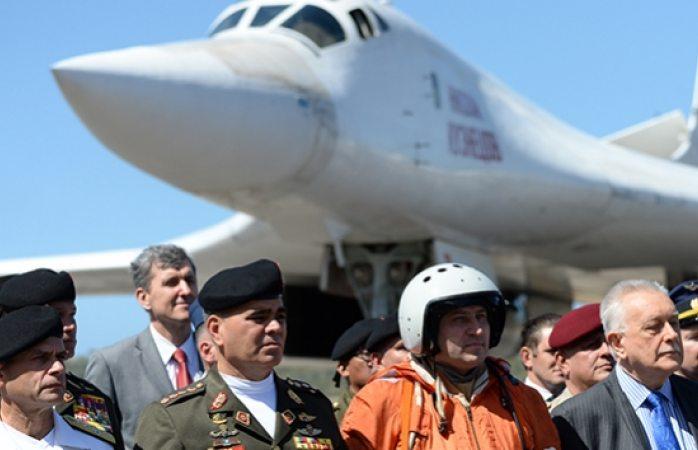 Envía Rusia aviones de guerra a Venezuela