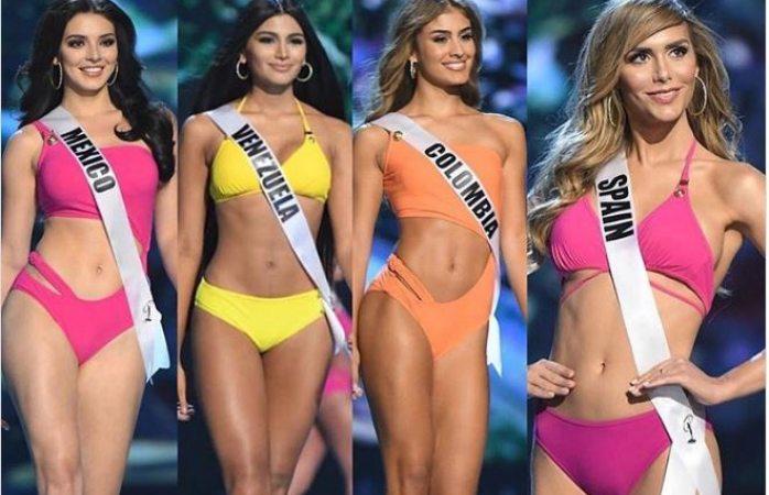 d2d02cab51f Desfila Ángela Ponce en bikini y se vienen las críticas