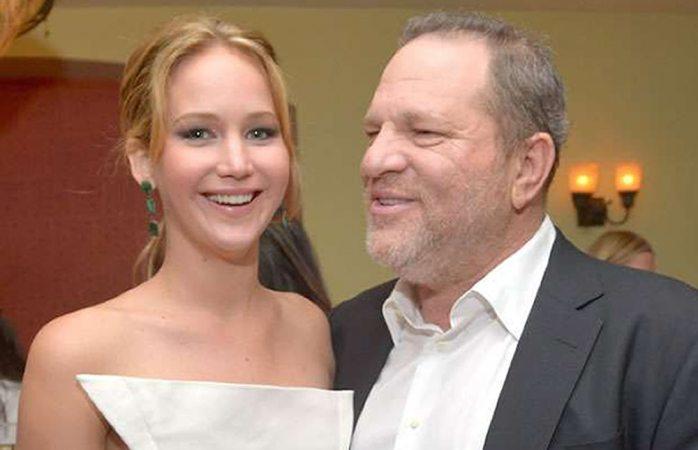 Jennifer Lawrence responde a dichos de Harvey Weinstein