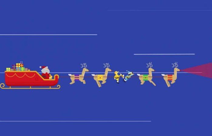 Sigue el recorrido de Santa Claus con google