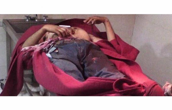 Dejan cinco hombres decapitados en funeraria de Guachochi