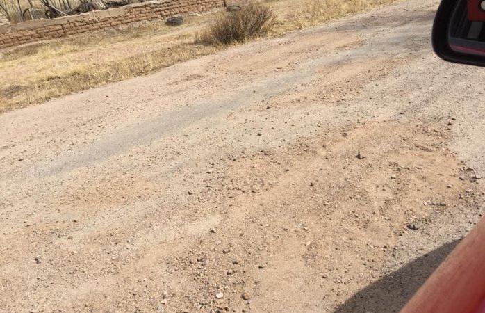 En pésimas condiciones la carretera Las Varas-Agua Blanca
