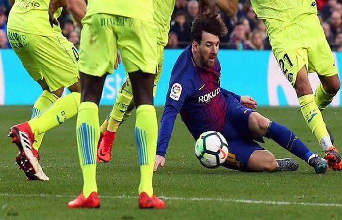 Barcelona no puede en casa contra el Getafe