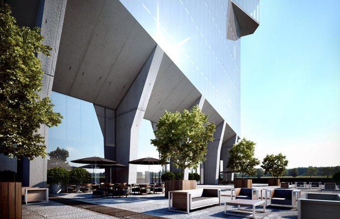 Construirán torre habitacional de 28 pisos en el periférico