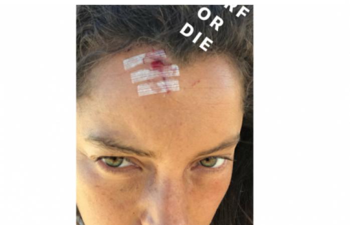 Sufre accidente Sara Maldonado
