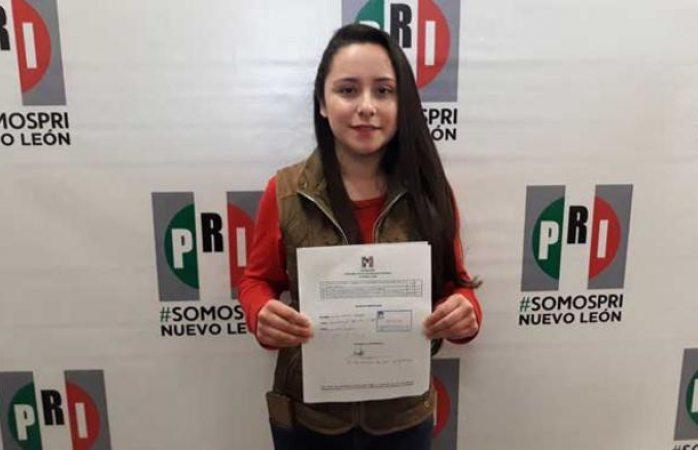 Hija de ex alcalde se postula a la Presidencia Municipal; tiene 23 años