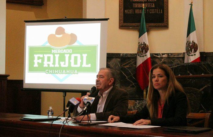 Productores ofertarán frijol en  mercado de la plaza del Ángel