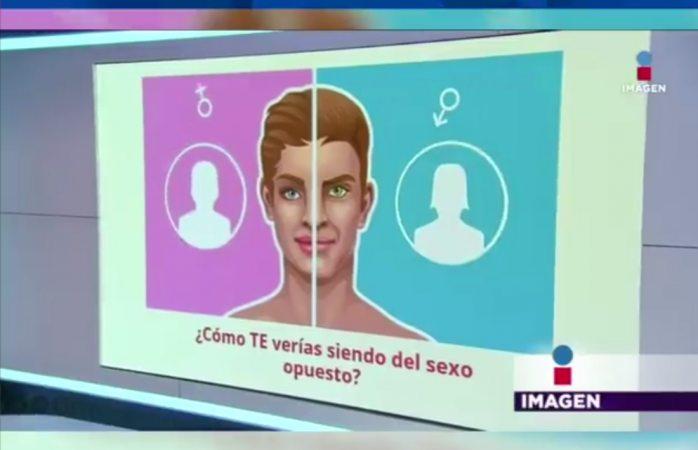 Utilizó el App para cambiar de sexo su rostro; está en serios problemas