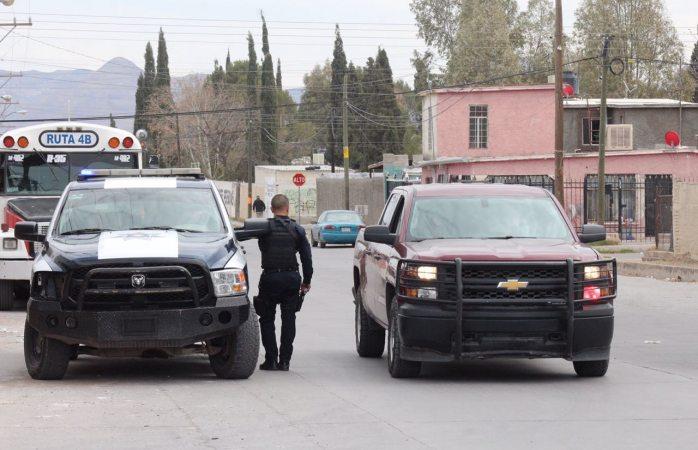Movilización policíaca en División del Norte por supuesto baleado