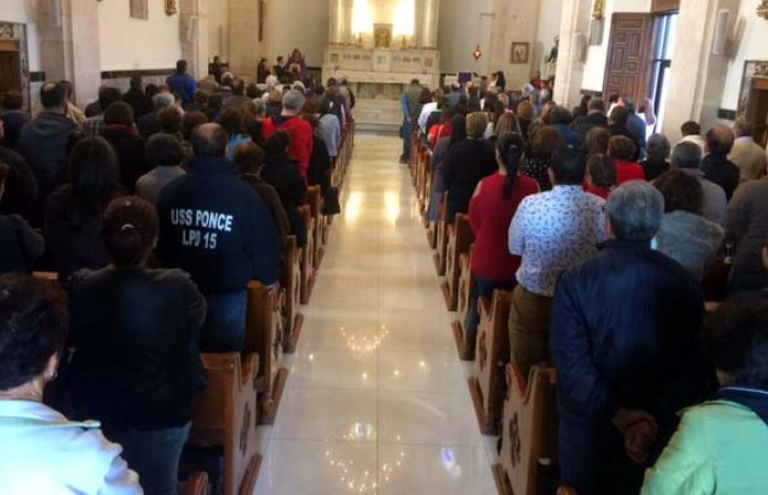 Llenan fieles católicos santuario de guadalupe
